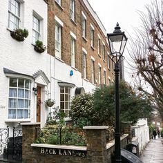 Hampstead village, London