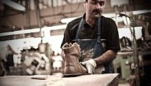 Danner boots. American made. Focus on the dedication and time commitment to making each boot by hand. LOVE the videos and photography on this site. Gorgeous, inspiring, comforting.