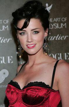 Ingeniously talented Amber Heard ...Dapper ideal Lady...