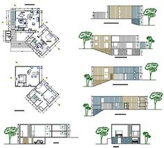 Louis Kahn's Fisher House via Floorplan Porn - Curbed Philly