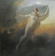 Anne-Louis Girodet de Roussy-Trioson - L'Aurore / L'Etoile du Matin