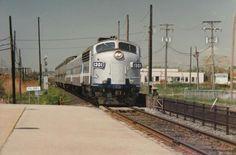 STCUM 1301 arrive à Pine Beach 1994