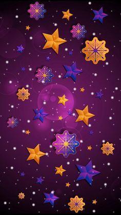 Phone Backgrounds, Wallpaper Backgrounds, Iphone Wallpaper, Wallpaper Ideas, Star Wallpaper, Purple Wallpaper, Fractal Art, Fractals, Plum Art