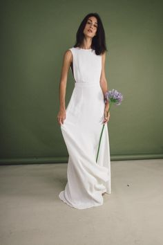 Dresses To Wear To A Wedding, Bohemian Wedding Dresses, Bridal Gowns, Wedding Gowns, Mediterranean Wedding, Bridal Tips, Blue Dresses, Formal Dresses, Marie