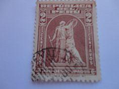2 Peru Postal Stamp