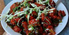 street food- gobi manchurian #streetfood #food #manchurian