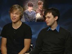 The Chronicles Of Narnia: Prince Caspian: Skandar Keynes and William Moseley Video Interview - YouTube