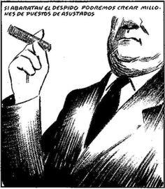 Despidos... #Viñeta #Humor