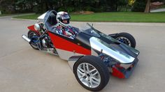 scratch built reverse trike