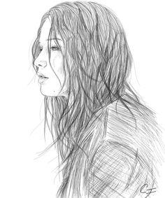 Katniss Everdeen Katniss Everdeen Halloween Costume, Hunger Games Drawings, Drawing Techniques, Drawing Tips, Drawing Ideas, Drawing People, Cool Drawings, Art Sketches, Portrait