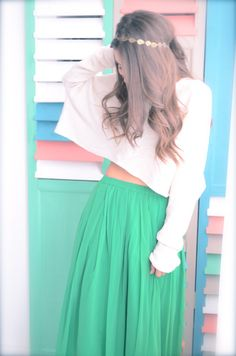 #LeTulle #greenskirt #smile #hat #goodmood #easiness #2015 #gotowww https://www.facebook.com/LeLovelyTulle