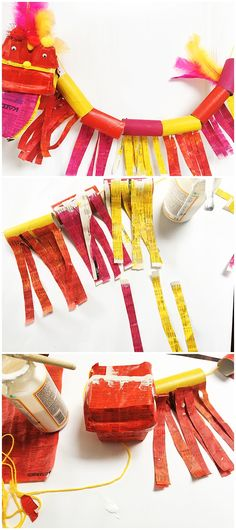 Chinese New Year Craft for Kids. Chinese New Year Craft for Kids. Chinese New Year Traditions, Chinese New Year Crafts For Kids, Chinese New Year Dragon, Chinese New Year Activities, Chinese New Year Food, Chinese New Year Decorations, Chinese Crafts, New Years Decorations, Paper Crafts For Kids