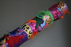 diy rainstick and i just happen to have a large empty tube i wanted to do this very thing with