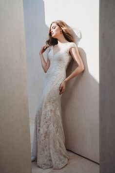 Allure Bridals is one of the premier designers of wedding dresses, bridesmaid dresses, bridal and formal gowns. Allure Bridesmaid, Bridesmaid Dresses, Elegant Wedding Dress, Wedding Dresses, New York Bride, Allure Couture, Cap Sleeve Gown, Affordable Bridal, Bridal And Formal