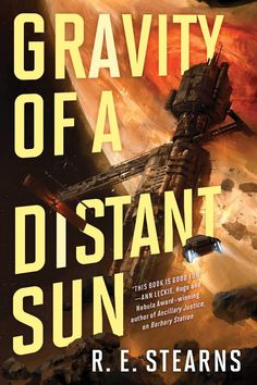 R.E. Stearns - Gravity of a Distant Sun / #awordfromJoJo #ScienceFiction #SpaceOpera #Pirates #Fantasy #LGBT #REStearns Cheer Party, Last Stand, Space Pirate, Audio Books, Science Fiction, Good Books, Ebooks, Sun, Cover
