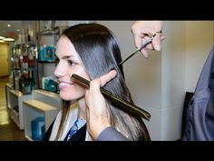 Extreme Hair Makeover Long to Short by Jerome Lordet NYC Howto - YouTube