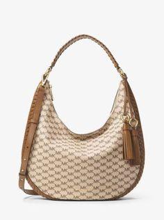 Lauryn Large Logo Shoulder Bag  4ddcf79a9312f