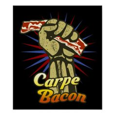 =-= Seize the Bacon ! >> That's the Best Idea We've Heard Funny T Shirt Sayings, T Shirts With Sayings, Funny Tshirts, Bacon Shirt, Best Bacon, Bacon Bacon, Bacon Bits, Bacon Funny, Funny Posters