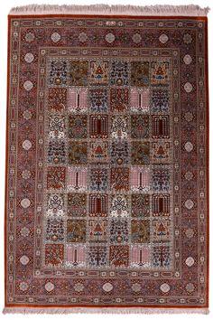 Qum Silk Carpet | Boutique Carpets - Oriental Rugs & Textiles in Cappadocia  AGE: New MATERIALS: Pure Silk SIZE: 150 x 100