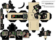 Star Trek Cutouts | Star Trek - Borg Drone by CyberDrone