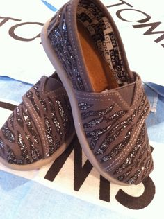 custom toms shoe. $65.00, via Etsy.