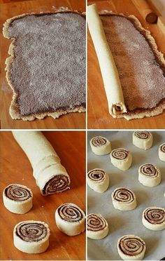 Hungarian Desserts, Hungarian Recipes, Bakery Recipes, Cookie Recipes, Dessert Recipes, Best Cinnamon Rolls, Food 101, Cookout Food, Cheesecake Desserts