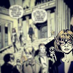 Spotting Anna Wintour's cameo in Phillip Lim's #KillTheNight comic book.