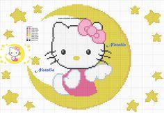 Cross Stitch Baby, Cross Stitch Charts, Cross Stitch Patterns, Baby Blanket Crochet, Crochet Baby, English Alphabet Letters, Hello Sanrio, Beaded Animals, Digimon
