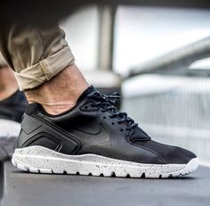 timeless design a9b2c 4de9d Nike Koth Ultra Low Black White  The Trainerendor meets the Huarache in  this Nike hybrid.