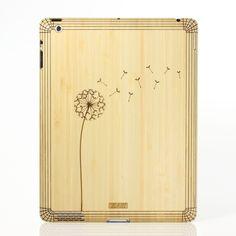 Dandelion iPad Cover Bamboo