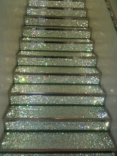 These stairs are secretly Sweet Adeline Stairs....personally, I think they should be in everyones' patterns on competition day!    **Although, I think this is what the stairs look like at the Eisemann Center - with blue glitter - after the Rich-Tones perform!