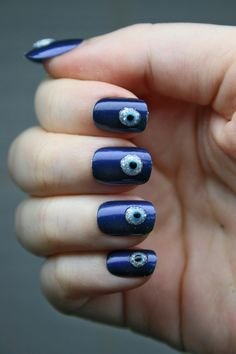 evil eyes....they gross me out for some reason but i guess this is kinda neat