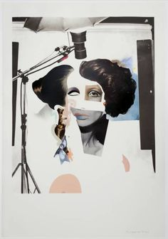 Richard Hamilton, London, 1969-70. Mixed Media, Week 5, Eduardo. A fun quality is created through the use of miss matched features. Is light hearted and frivolous.