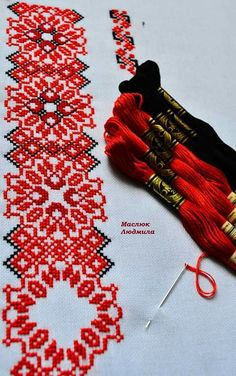 Hand Embroidery Videos, Folk Embroidery, Embroidery Stitches, Embroidery Patterns, Cross Stitch Designs, Cross Stitch Patterns, Palestinian Embroidery, Crochet Basket Pattern, Beaded Crafts