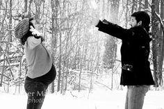 maternity photography winter - Google-haku
