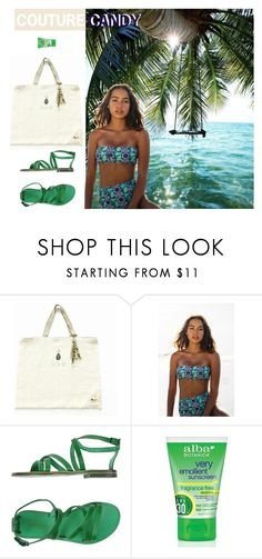 """""""Beach Candy"""" by couturecandy ❤ liked on Polyvore featuring Kovey, L'Artigiano del Cuoio and modern"""
