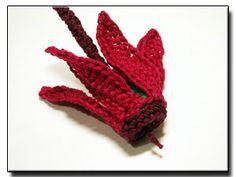 free pattern - Persian Cyclamen - 365 Flowers Project
