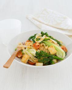 Thai Tofu & Rice Noodle Stir-fry