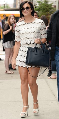 Look of the Day - Demi Lovato from InStyle.com