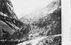 Nordland fylke Narvik Ofotbanen Elektriska station vid Hundalen utg Borg Mesch, Kiruna tidlig 1900-tallet