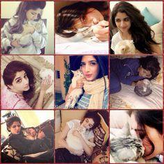 Mawra Hocane Old and New Pictures with Pet Cat Rumi! ❤ #MawraHocane #PakistaniActresses #PakistaniCelebrities  ✨