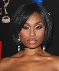 Angell Conwell's chin-length bob.