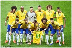 EQUIPOS DE FÚTBOL: SELECCIÓN DE BRASIL 2013-14