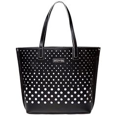 Kenneth Cole Reaction 'Bubbles' Black and White Tote - List Price: $200.00 Sale Price: $69.95