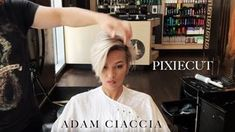 || What an Incredible Pixie Cut || By Adam Ciaccia - YouTube