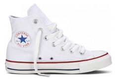 228ce3a982ca Rock a cool classic in Chuck Taylor High Top by Converse! It s  the   timeless sneaker featuring a canvas upper with a traditional white lace-up