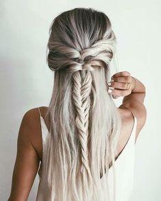 Half up twist braid