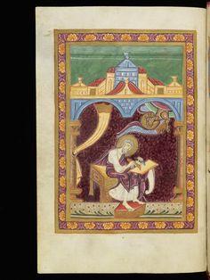 St. Gallen, Stiftsarchiv (Abtei Pfäfers), Cod. Fab. 2: Liber aureus (Évangélistaire ) · 1080-1090 et vers 1400 et dernier quart du XVe siècle Langue:Latin, Allemand  (http://www.e-codices.unifr.ch/fr/list/one/ssg/fab0002)