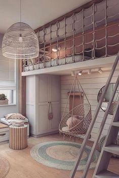 Kids Bedroom Designs, Room Design Bedroom, Kids Room Design, Room Ideas Bedroom, Home Room Design, Bedroom Decor, Small Room Design, Bedroom Small, Awesome Bedrooms