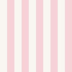 "Orren Ellis Grabill 32.7' L x 20.5"" W 1"" Striped Wallpaper Roll Color: Pink/White"